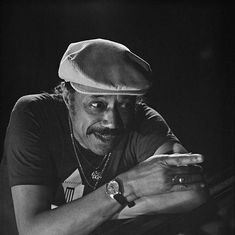 American jazz pianist and composer Horace Silver, 1989.