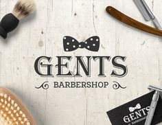 Barbershop Logo  Logo Design  Premade Logo by StudioTwentyNine