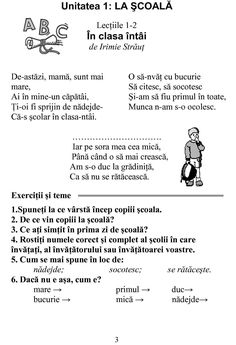 Editura DOR Romanian Language, Preschool At Home, School Lessons, Kids Education, Parenting, Teacher, Math, Quizes, Literatura