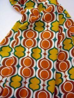 vtg 50s 60s curtain fabric retro Dekoplus era DIY cushions patchwork $27.86 (6d2h left)