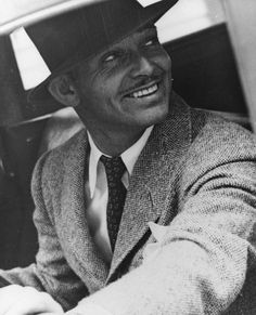 Clark Gable~  I have always had a crush on Clark Gable. I smile every time I see his picture.