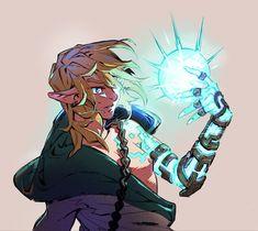 The Legend Of Zelda, Legend Of Zelda Breath, Breath Of The Wild, Image Zelda, Ben Drowned, Band Wallpapers, Link Art, Nerd, Link Zelda