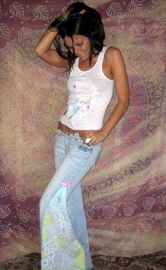 CUSTOM Made to Order LOVE Hippie Wide-Leg Elephant Pants. $73.99, via Etsy.