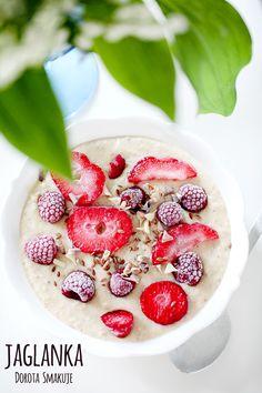 Jaglanka daktylowa Baby Food Recipes, Cooking Recipes, Healthy Recipes, Magic Recipe, Raspberry, Good Food, Lunch Box, Food And Drink, Sweets