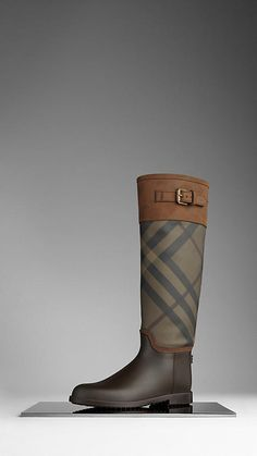 burberry- boots