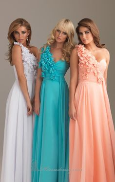 Bridesmaids colours you never thought would match