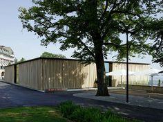 Resultado de imagen de vorhang aussen pavillon