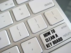 how to clean a computer keyboard @Intrave Automatización Industrial http://www.creatingreallyawesomefreethings.com/how-to-clean-your-keyboard/