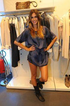 Melissa Satta in Stefanel - shop online at www.stefanel.com