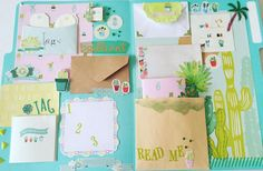 Snail Mail made by @happymail__ Find more Snail Mail Inspiration on my blog www.snailmail-ideas.com
