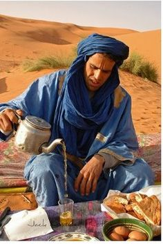 In the Arab and Muslim countries of the Middle East, the word for tea is chaï or tchaï or châhï, while in Morocco, as well as in other North African countries, they say tây or more commonly atây
