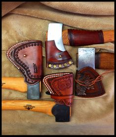 Leather, Steel & Wood by John Black