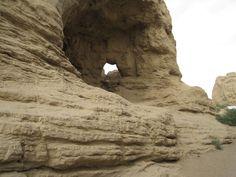 Jiaohe Ruins 交河故城 10 km west of the city of Turpan in Xinjiang Uyghur Autonomous Region, China
