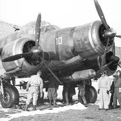 """Lonate Pozzolo, 1944. Un SIAI S.79 del Gruppo Aerosiluranti """"C. Faggioni"""" dell'Aeronautica Nazionale Repubblicana"""