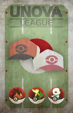 Unova League | G-Design: Character Illustrator and Designer