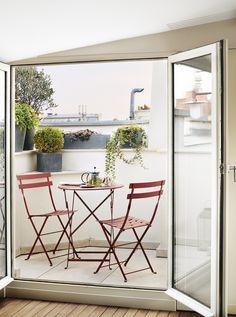 — A+B Kasha, Terrace on Rue de Seine