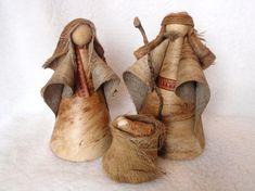 Natural Hawaiian Nativity Set