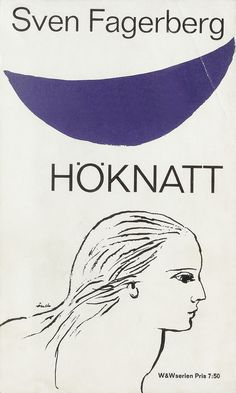 vintage book cover: 1964, cover by Per Åhlin