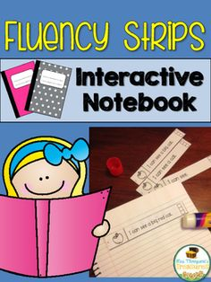 Fluency Strips Interactive Notebook - Sight Words & CVC More than 100 simple sentences are included in this set to help your students become more fluent readers. These fun fluency sentence strips can be used alone or turned into an interactive notebook!