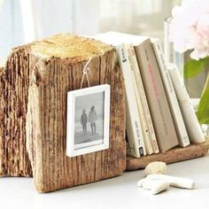 salvaged wood for making book stand