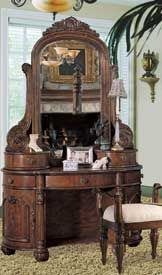 An Edwardian vanity, wonderful for preparing for all those magickal festivals and rituals.