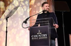 Pin for Later: Justin Timberlake Hangs With Nashville's Finest at the ASCAP Country Music Awards