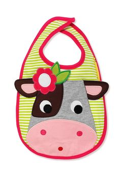 Olive & Moss Collette the Cow Bib