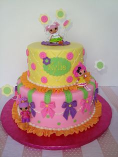 Lalaloopsy Cake by Let There Be Cake, via Flickr