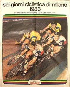 sei giorni ciclistica di milano 1983JPG