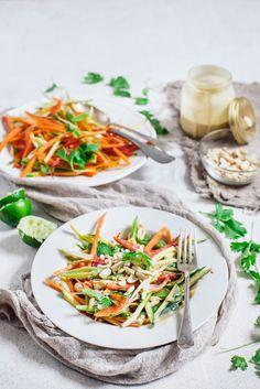 raw pad thai style salad ...