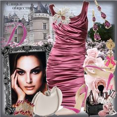 Pink ruby by olivia-richter on Polyvore