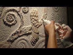 Мастер Класс Барельеф дерева Климта ЧАСТЬ 1(3) Создание барельефа своими руками - YouTube