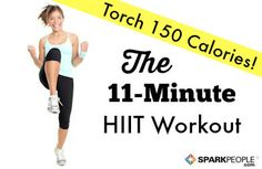 Torch 150 calories and get your heart pumping with this quick and sweaty workout! Perfect since I have little time to work out with two littles.