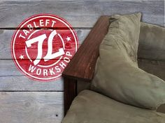 BUILD: Easy Couch Shelf - YouTube