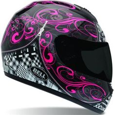 I probably gonna need this to ride my imaginary hot pink motorcycle I pinned before. ha-ha Pink Motorcycle Helmet, Motorcycle Parts, Full Face Motorcycle Helmets, Motorcycle Outfit, Pink Helmet, Helmet Hair, Racing Helmets, Women Motorcycle, Motorcycle Style