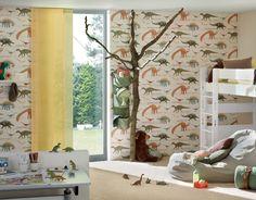 93633-1 Papírová tapeta na zeď Boys and Girls Dinosauři 9363-31, velikost 10,05 m x 53 cm | kupsi-tapety.cz