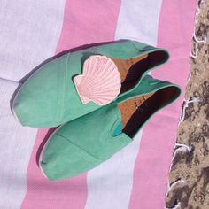 Amorgos suede leather slip-on