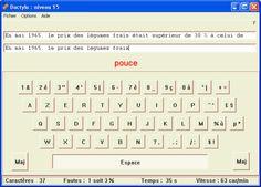 Gestion Administration, Computer Keyboard, Periodic Table, Frappe, Internet, Keyboard Keys, Keyboard Shortcuts, Software, Fingers