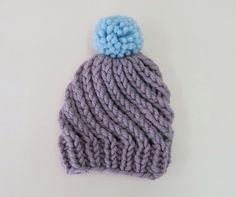 リバーシブルニット帽 (子ども用) | 手づくりレシピ | クロバー株式会社
