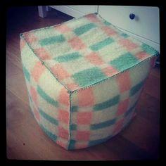 Van oude wollen deken wil ik ook gaan maken