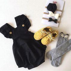 Newborn Infant Baby Girl Cotton Bodysuit Romper Jumpsuit Clothes Outfits Sunsuit #Unbranded #DressyEverydayHoliday