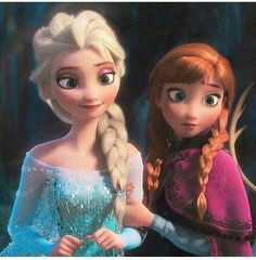 One if my favorite things about this movie is that the guy didn't save the day. There was no handsome prince that swooped in and saved the day. It was the love Anna has for her sister. Anne and Elsa share such a strong bond that it broke the frozen heart. Not some kiss from a had some dude.