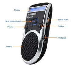 Solar Powered Bluetooth Car Kit Lcd Display Caller Id Hands Free Bluetooth Speaker Hands Free Bluetooth, Bluetooth Car Kit, Display Lcd, Solar Car, Car Accessories For Girls, Caller Id, Car Gadgets, Free Cars, Bluetooth Speakers
