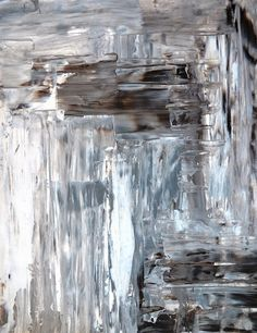 Silver | 銀 | Plata | Gin | Argento | Cеребро | Argent | Metal | Chrome | Metallic | Colour | Texture | Pattern | Style | Design | Composition | Photography | CarolLynn Tice, Brown & Grey Abstract Art Painting, 2013 (Acrylic on Canvas)