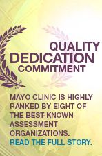 Quality, Dedication, Commitment. Mayo Clinic is highly ranked by more assessment organizations than any other major U.S. Hospital or clinic.