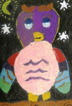 Artsonia Art Museum :: Artwork by Maison25 Oil Pastel on Tar Paper