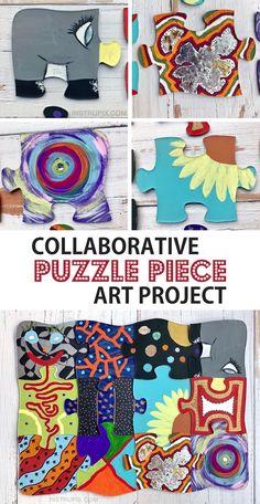 Fun DIY Puzzle Piece Craft Ideas