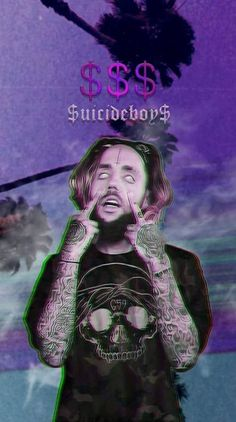 Suicide Ringtones and Wallpapers - Free by ZEDGE™ Badass Aesthetic, Bad Girl Aesthetic, Purple Aesthetic, Uicideboy Wallpaper, Wallpaper Animes, Collage Des Photos, Photo Wall Collage, Picture Wall, Iphone Wallpaper Tumblr Aesthetic