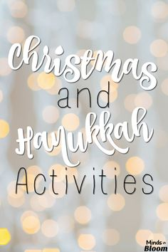 Check out this list of freebies for Christmas and Hanukkah activities. Your students will love these activities while they celebrate the holidays! Writing Resources, Teaching Writing, Teaching Tips, Christmas Activities, Classroom Activities, Winter Activities, Christmas Math, Christmas Ideas, Math Words