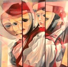Colori di Budoni   Tecnica: acrilico   cm 100 x 100  Anno 2012